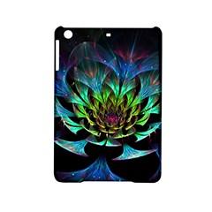 Fractal Flowers Abstract Petals Glitter Lights Art 3d iPad Mini 2 Hardshell Cases