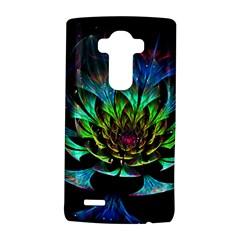 Fractal Flowers Abstract Petals Glitter Lights Art 3d LG G4 Hardshell Case