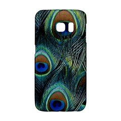 Feathers Art Peacock Sheets Patterns Galaxy S6 Edge