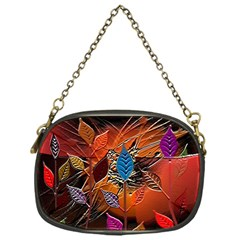 Colorful Leaves Chain Purses (One Side)