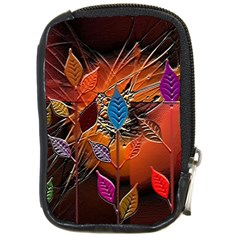 Colorful Leaves Compact Camera Cases