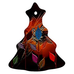 Colorful Leaves Ornament (Christmas Tree)