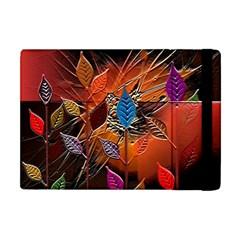 Colorful Leaves Apple iPad Mini Flip Case