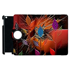 Colorful Leaves Apple iPad 2 Flip 360 Case