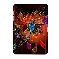 Colorful Leaves Samsung Galaxy Tab 2 (10.1 ) P5100 Hardshell Case