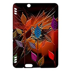 Colorful Leaves Kindle Fire HDX Hardshell Case