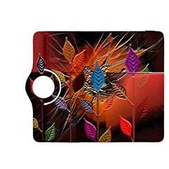 Colorful Leaves Kindle Fire HDX 8.9  Flip 360 Case