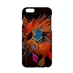Colorful Leaves Apple iPhone 6/6S Hardshell Case