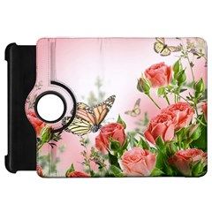 Flora Butterfly Roses Kindle Fire HD 7