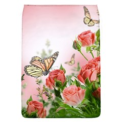 Flora Butterfly Roses Flap Covers (S)