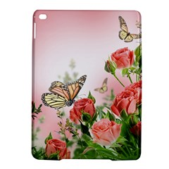 Flora Butterfly Roses iPad Air 2 Hardshell Cases