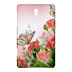 Flora Butterfly Roses Samsung Galaxy Tab S (8.4 ) Hardshell Case