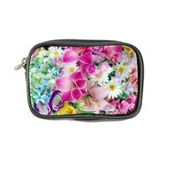 Colorful Flowers Patterns Coin Purse