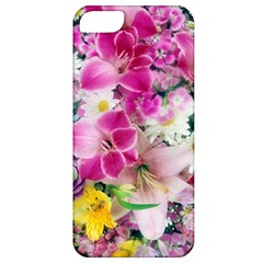 Colorful Flowers Patterns Apple iPhone 5 Classic Hardshell Case