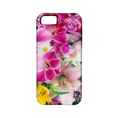 Colorful Flowers Patterns Apple iPhone 5 Classic Hardshell Case (PC+Silicone)