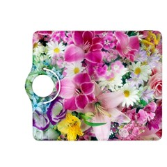 Colorful Flowers Patterns Kindle Fire HDX 8.9  Flip 360 Case