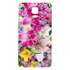 Colorful Flowers Patterns Galaxy Note 4 Back Case