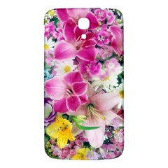 Colorful Flowers Patterns Samsung Galaxy Mega I9200 Hardshell Back Case