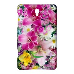 Colorful Flowers Patterns Samsung Galaxy Tab S (8.4 ) Hardshell Case