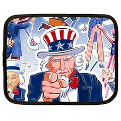 Independence Day United States Of America Netbook Case (Large)