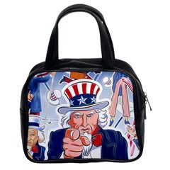 Independence Day United States Of America Classic Handbags (2 Sides)