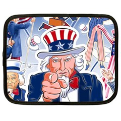 Independence Day United States Of America Netbook Case (XXL)