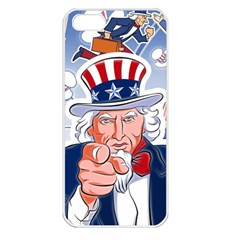 Independence Day United States Of America Apple iPhone 5 Seamless Case (White)