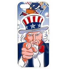 Independence Day United States Of America Apple iPhone 5 Hardshell Case with Stand