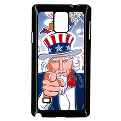 Independence Day United States Of America Samsung Galaxy Note 4 Case (Black)