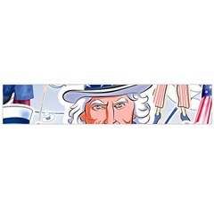 Independence Day United States Of America Flano Scarf (Large)