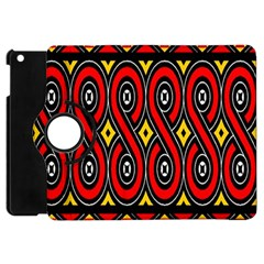 Toraja Traditional Art Pattern Apple iPad Mini Flip 360 Case