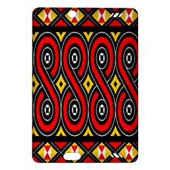 Toraja Traditional Art Pattern Amazon Kindle Fire HD (2013) Hardshell Case