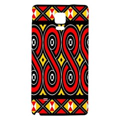 Toraja Traditional Art Pattern Galaxy Note 4 Back Case