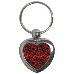 Volcanic Textures(1) Key Chains (Heart)