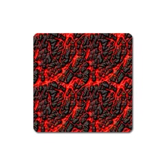 Volcanic Textures(1) Square Magnet