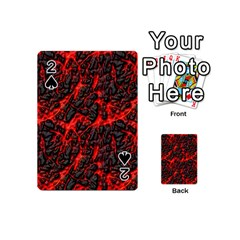 Volcanic Textures(1) Playing Cards 54 (Mini)
