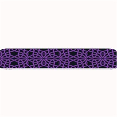 Triangle Knot Purple And Black Fabric Small Bar Mats