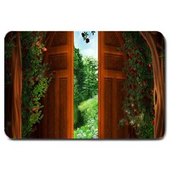Beautiful World Entry Door Fantasy Large Doormat