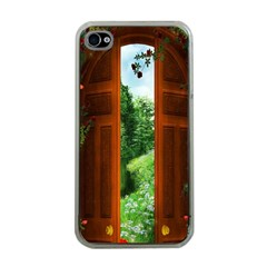 Beautiful World Entry Door Fantasy Apple iPhone 4 Case (Clear)