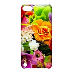 Colorful Flowers Apple iPod Touch 5 Hardshell Case with Stand