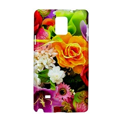 Colorful Flowers Samsung Galaxy Note 4 Hardshell Case