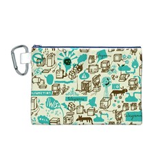 Telegramme Canvas Cosmetic Bag (M)