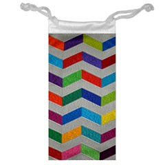 Charming Chevrons Quilt Jewelry Bag