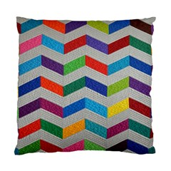 Charming Chevrons Quilt Standard Cushion Case (Two Sides)