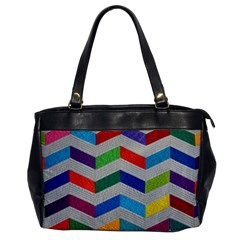 Charming Chevrons Quilt Office Handbags