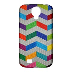 Charming Chevrons Quilt Samsung Galaxy S4 Classic Hardshell Case (PC+Silicone)