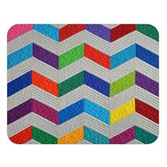 Charming Chevrons Quilt Double Sided Flano Blanket (Large)