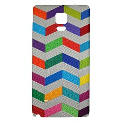 Charming Chevrons Quilt Galaxy Note 4 Back Case