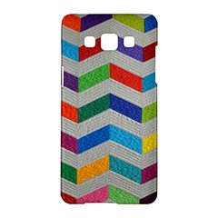 Charming Chevrons Quilt Samsung Galaxy A5 Hardshell Case