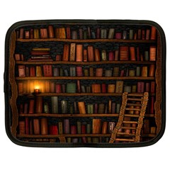 Books Library Netbook Case (Large)